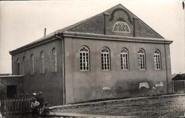 Didžioji sinagoga 1935 m.