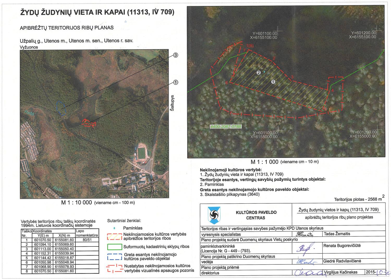 Rašės miško planas (Kultūros vertybių registro dokumentas)