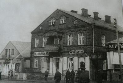 S.Šterno namas Utenio aikštėje (iš zydai.lt)